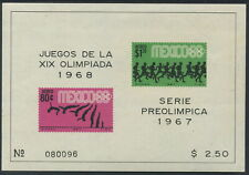 MEXICO - 1967 'OLYMPIC - PUBLICITY AIRMAIL' Imperf Miniature Sheet MNH [C1959]