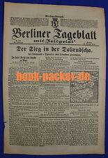 BERLINER TAGEBLATT (23.10.1916): Der Sieg in der Dobrudscha