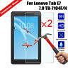 2x Tempered Glass Screen Protector for 7.0'' Tablet Lenovo Tab E7 7.0 TB-7104F/N