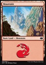 4x Montagna 63 - Mountain 63 MTG MAGIC DDT Eng