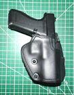 Front Line SKC17P-BK RH Kydex Paddle Holster Suede Lined Glock 17 22 31 9 40 357