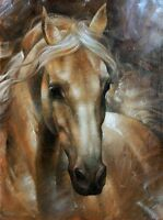 LMOP23 high quality 100% hand-painted modern  horse art oil painting on canvas