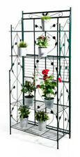VERDELOOK Scaffale in metallo pieghevole 5 scaffali. piante arredo giardino