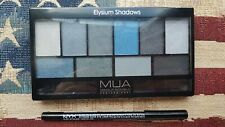 MUA Elysium Shadows Palette & NYX Slide On Black Eye Liner (see description)
