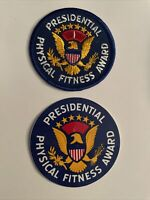PRESIDENTIAL PHYSICAL FITNESS AWARD Patch And Sticker Year 1 Patch 3 Inch Unused