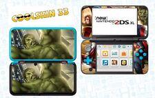 AVENGERS HULK - vinyl Skin Aufkleber für Nintendo NEW 2DS XL - r��f 184