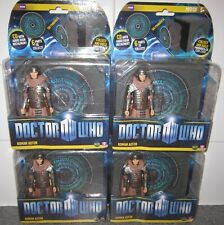 Doctor Dr Who Roman Auton Action Figure Lot (x4) with Pandorica CD2 - Sealed