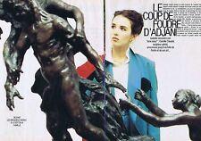 Coupure de presse Clipping 1987 Isabelle Adjani    (8 pages)