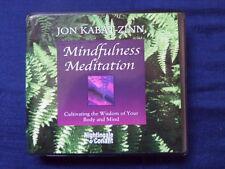 Nightingale Conant Mindfulness Meditation Jon Kabat Zinn 6 cds