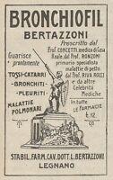 Z2043 Bronchiofil Bertazzoni - Legnano - Pubblicità d'epoca - Advertising