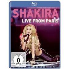 """Shakira """"Live from paris"""" Blu-ray NEUF"""
