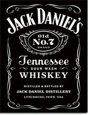 Jack Daniel's Black Label Tin Sign 13 x 16in