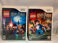Nintendo Wii Lego Harry Potter Years 1-4 & 5-7  - Ships Free