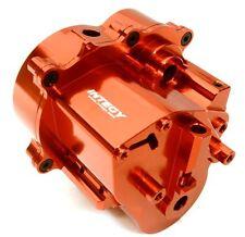 Integy Billet Aluminum Center Gear Transmission Box for Traxxas T-Maxx Red