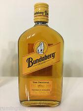 Bundaberg Rum - 375 ml glass bottle - bear 4 design (house label)