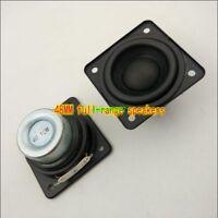 2pcs 48mm 4Ω 10W Full-range Speaker Loudspeaker square 4Ohm HIFI Audio Part