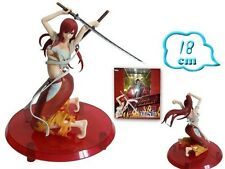 Fairy Tail Erza Figure 18 cm NUOVO Erza Scarlet Anime Manga Fairy Tail