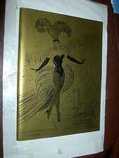 Autographed ANN MILLER CROWNING MISS ZIEGFELD 1980 PROGRAM   43rd Anniversary Ba