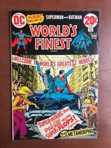 World's Finest Comics #218 (1973) 6.0 FN DC Key Issue Comic Batman Superman
