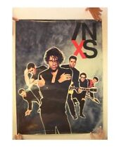 INXS Poster Band Shot Cool Image Old