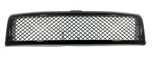 94 01 02 Dodge Ram Truck Gloss Black Sport Mesh Front Hood Grill Grille Kit