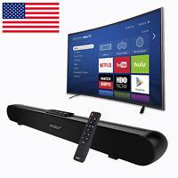 Powerful TV Home Theater Soundbar Bluetooth Sound Bar Speaker System w/Subwoofer