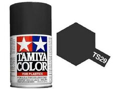 TAMIYA COLOR AIRSPRAY TS-29 SEMI GLOSS BLACK 100ml