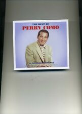 PERRY COMO - THE BEST OF - 2 CDS - NEW!!