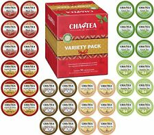 Cha4TEA 36 Keurig KCup Tea Variety Flavor Sampler Pack K Cups (Green Tea, Black