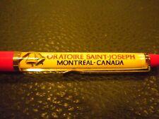 Vintage Floaty Pen - Oratoire Saint Joseph-Montreal, Canada - Monk holding Baby?