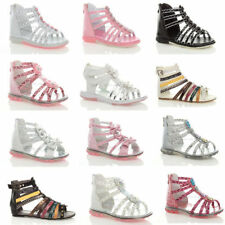 Party Synthetic Zip Shoes for Girls
