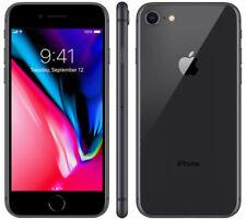 iPhone 8 Black 64GB - Unlocked - Screen Protector - Black Case - 1 week old