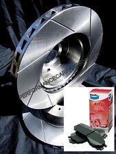 SLOTTED FRONT Disc Brake Rotors & BENDIX PADS Landcruiser HZJ70R HZJ73R HZJ75R