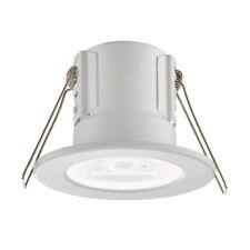 Saxby Shieldeco Ip65 Contraincendios 4w 4000k Led Regulable Luz de Baño