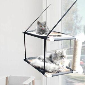 Sleeping Cat Bed Mattress Balcony Hammock Single Double Layer Seat Waterproof