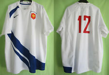 Maillot Rugby Nike Equipe Quinze de France #12 New Zealand 2009 vintage FFR - XL