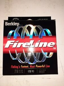 Berkley FireLine Thermal Filament Fishing Super Line Technology Smoke 20lb 125yd