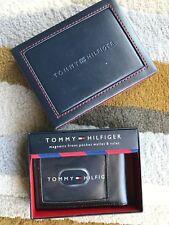 TOMMY HILFIGER MAGNETIC FRONT POCKET WALLET & VALET - NEW IN BOX