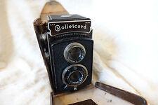 ROLLEICORD TLR 75MM F4.5 TRIOTAR Carl Zeiss Jena + VALIGETTA + spedizione gratuita nel Regno Unito