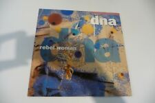 "DNA MAXI 45T REBEL WOMAN. FRENCH PRESS LABEL BLANC. 12"" DAVID BOWIE REBEL REBEL"