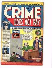 Crime Does Not Pay #77 (Jul 1949, Lev Gleason)
