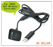 Carga USB Cargador Cable De Conexión Adaptador para Controlador de Juegos Inalámbrico Xbox360