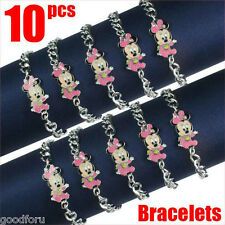 Lot 10pcs Disney Baby Minnie Mouse Bracelets Baby Shower Birthday Party Gifts