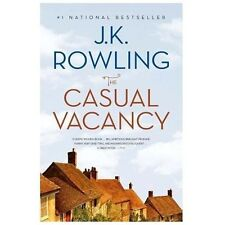 The Casual Vacancy by J. K. Rowling (2013, Hardcover, Prebound)