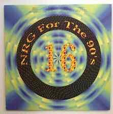 "HOT TRACKS   NRG 90's #16   Single 12"" Issue 4 Tracks  Blue Vinyl  DJ Promo"