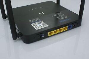 Dual Band Wireless Gigabit Cloud 4G VPN Router 512M USB 3.0 Print Disk Download