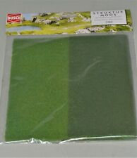 Busch 7385 STRUKTUR MOOS Foliage Fleece for All Scales - 245x245mm Each Color
