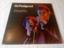 DR FEELGOOD stupidité NEAR Comme neuf VINYL LP record SAMU 29990