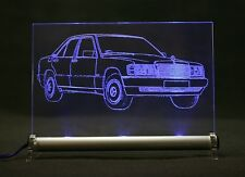 Pantalla luminosa de LED-grabado es 190er w201 190 auto grabado