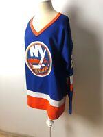 Mike Bossy New York Islanders 1982 CCM Vintage Throwback NHL Hockey Jersey 48
